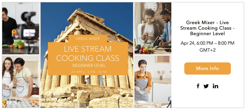 ChefPassport Online Cooking Events: Live Stream on April 24th @ 6pm CET