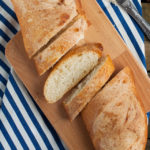 Horiatiko Psomi a Crusty Country Loaf