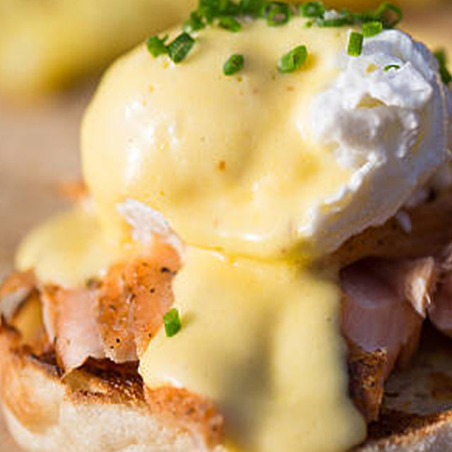 Eggs Benedict, Florentine and Royale